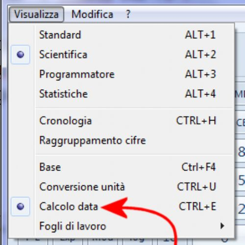 Calcolare differenza tra due date in Windows