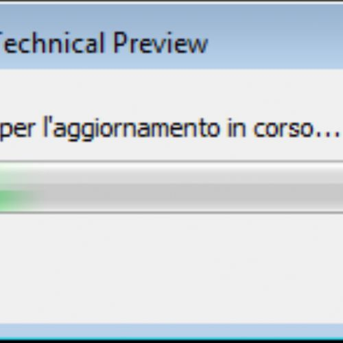 Aggiornare Windows 7 a Windows 10 con Windows Update