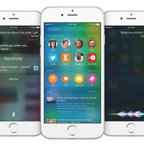 Apple presenta iOS 9, Mac OS X El Capitan e watchOS 2