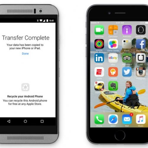 Da Apple un'app per passare da Android ad iOS