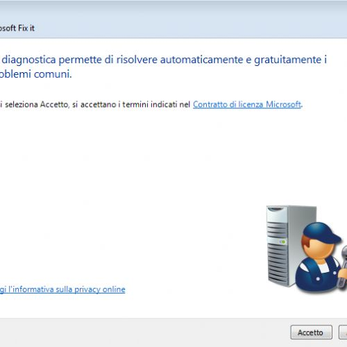 Velocizzare Windows 7 e sistemi operativi precedenti con un Fix it