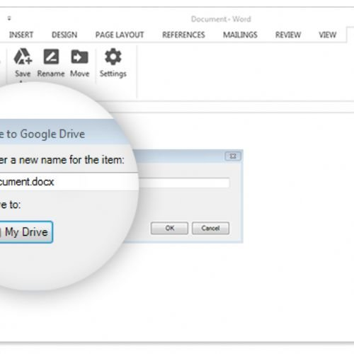 Aprire i documenti Google Drive con Microsoft Office