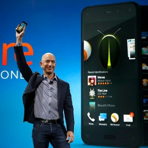 Amazon, basta smartphone dopo il flop Fire Phone