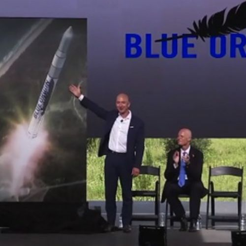 Amazon guarda ai voli spaziali con Blue Origin