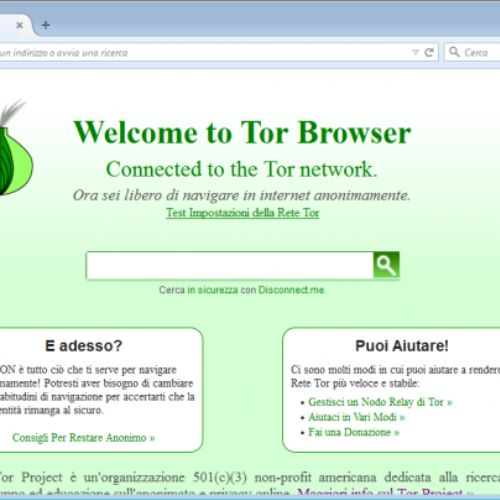 Tor Browser, ecco come si usa