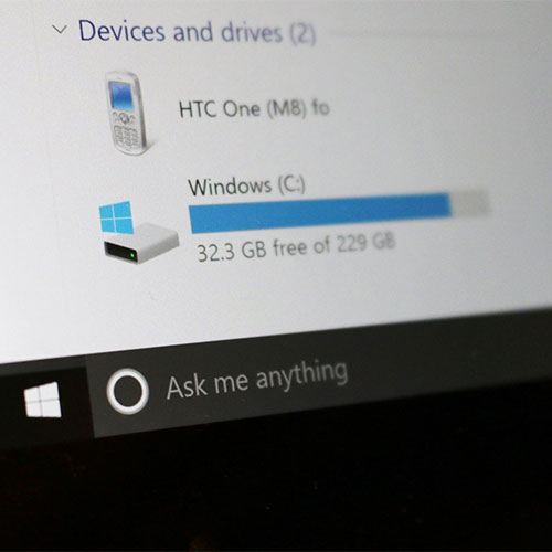 Liberare spazio su Windows 10