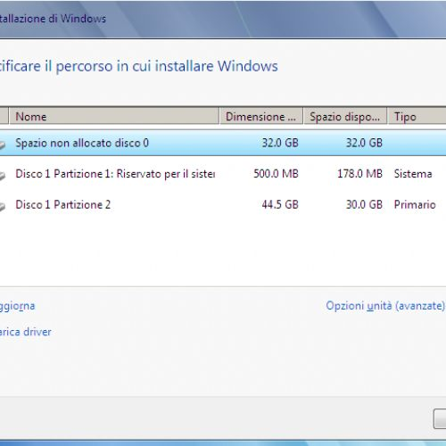Installare più sistemi operativi Windows su PC