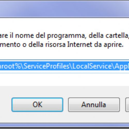 PresentationFontCache occupa la CPU al 50% su Windows 7