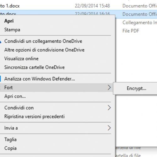 Come proteggere cartella con password in Windows