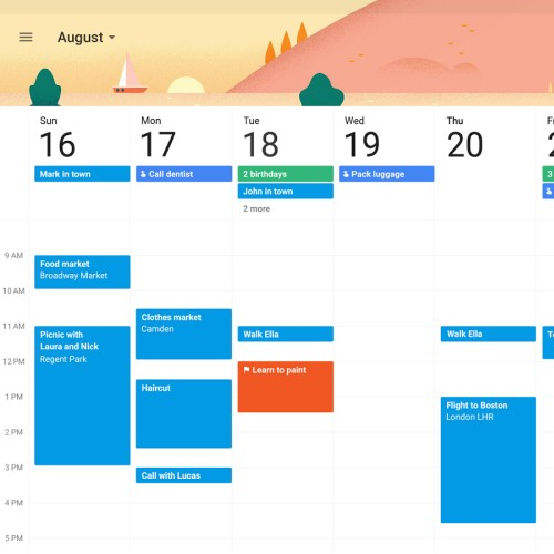 Calendario Google, accedervi da più dispositivi e gestirlo da browser