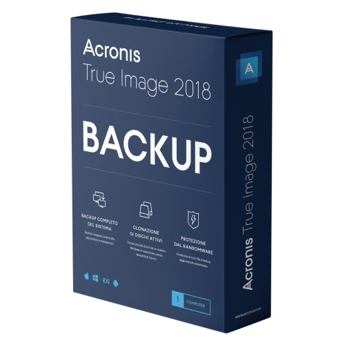 Acronis True Image 2018 usa l'intelligenza artificiale per combattere i ransomware