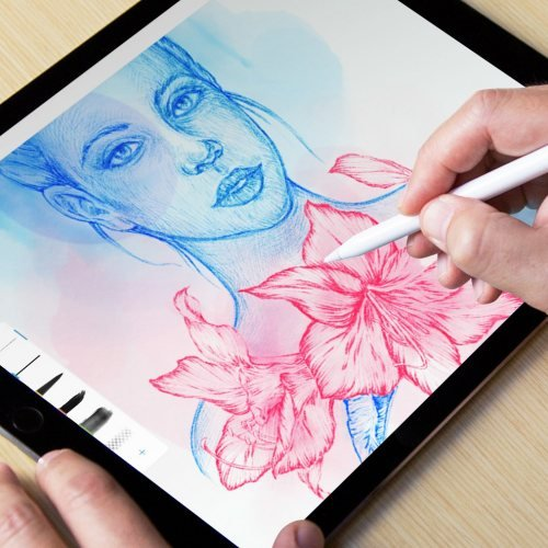 Modifica foto su tablet e convertibili con Photoshop Express, Fix, Mix e Sketch Mobile