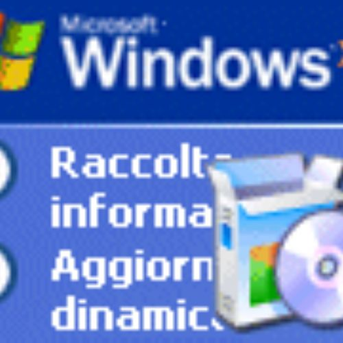 Guida all'installazione di Windows XP