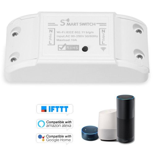 Interruttori smart WiFi per gestire dispositivi a distanza in offerta su eBay