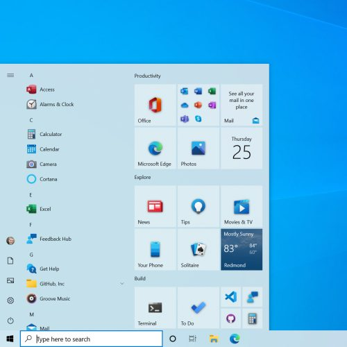 Come attivare il nuovo menu Start di Windows 10