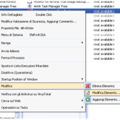 AnVir: un sostituto per il task manager di Windows