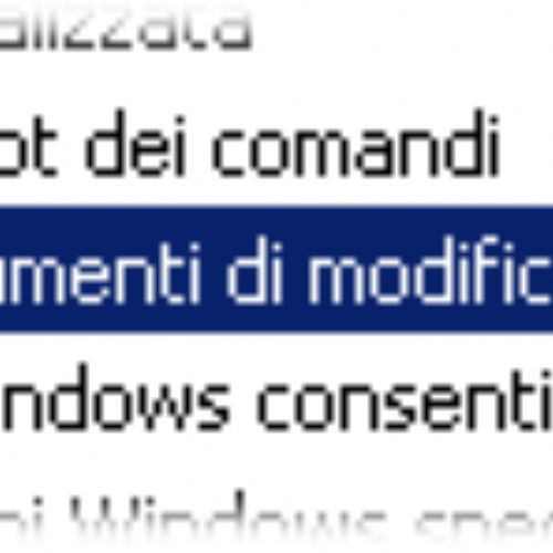 Riprendere il controllo sul registro di sistema di Windows