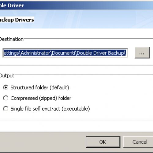 Double Driver 4.0: per creare una copia di backup dei driver