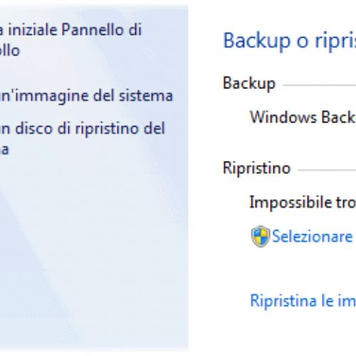 Windows 7: ripristinare singoli file e cartelle da un'immagine di backup