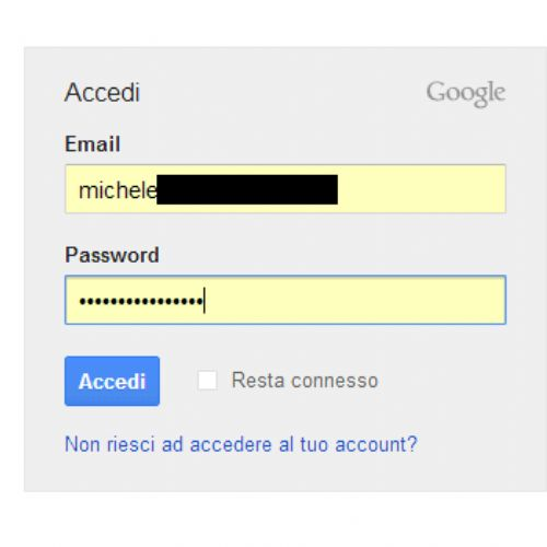 Mostrare le password nascoste sotto asterischi e puntini nel browser web
